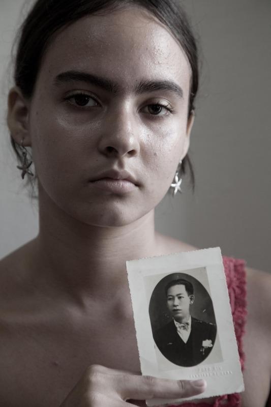 Nieta joven de Chang Din Faan
